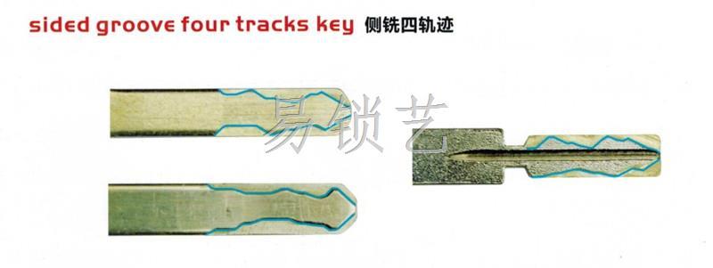 汽车钥匙的各种形态和结构图片
